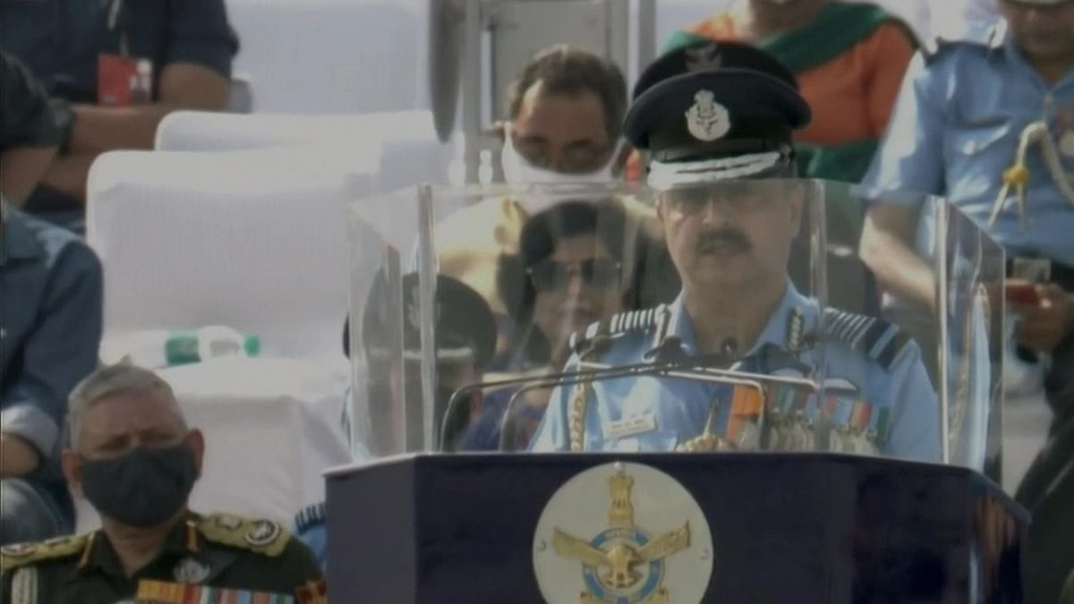 IAF's prompt actions in eastern Ladakh testament to its combat readiness: IAF chief