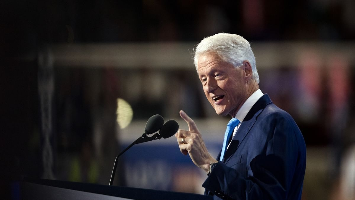 Ex-US President Clinton released from hospital