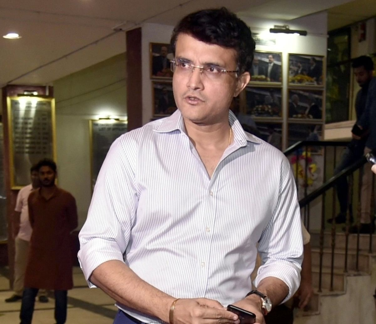 Sourav Ganguly in home quarantine after brother Snehashish tests ...