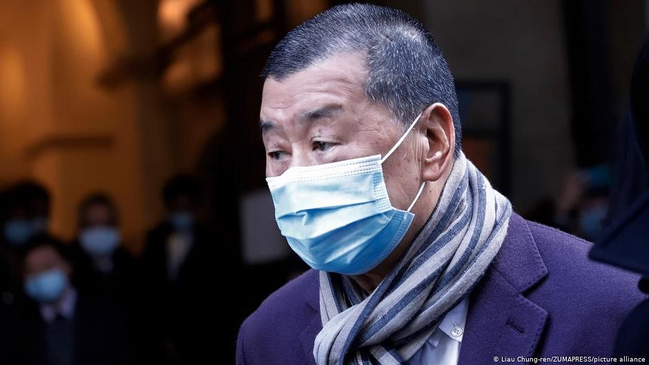 Hong Kong Tycoon Jimmy Lai was Sentenced to 14 Months