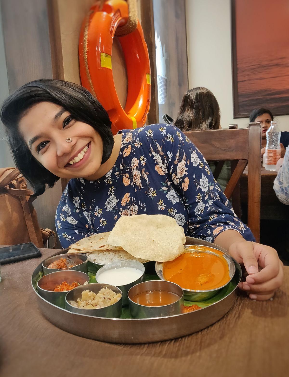 """I eat, breathe and talk food,"" says TVM food blogger Anjana Gopakumar"