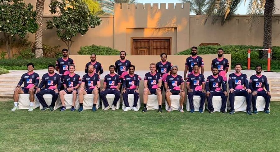 The main squad of Rajasthan Royals