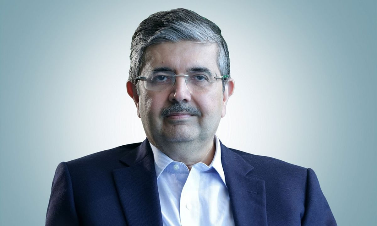 Uday Kotak, Chairman of Kotak Mahindra Bank Ltd