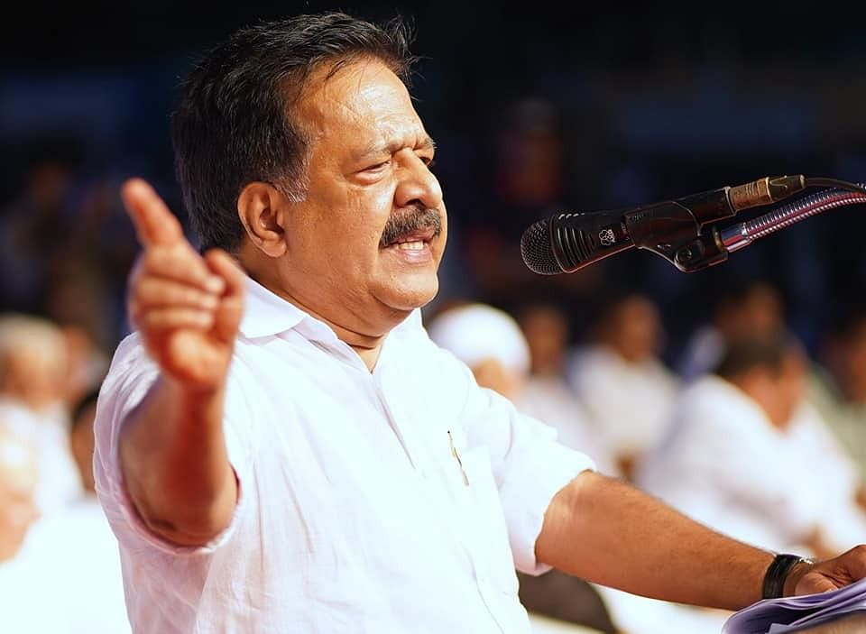 Both government and party under custody: Ramesh Chennithala