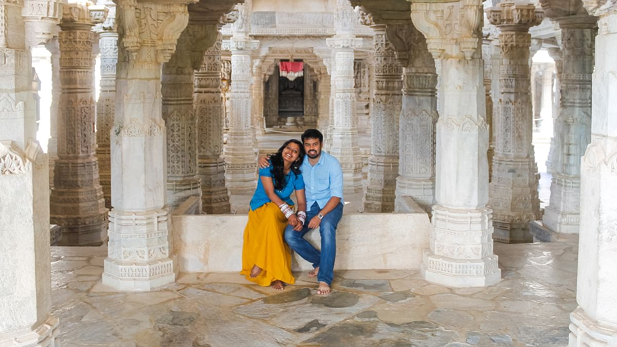 'We work, save and fund our own trips', say travel blogger couple Thara Nandikkara and Goutham Rajan