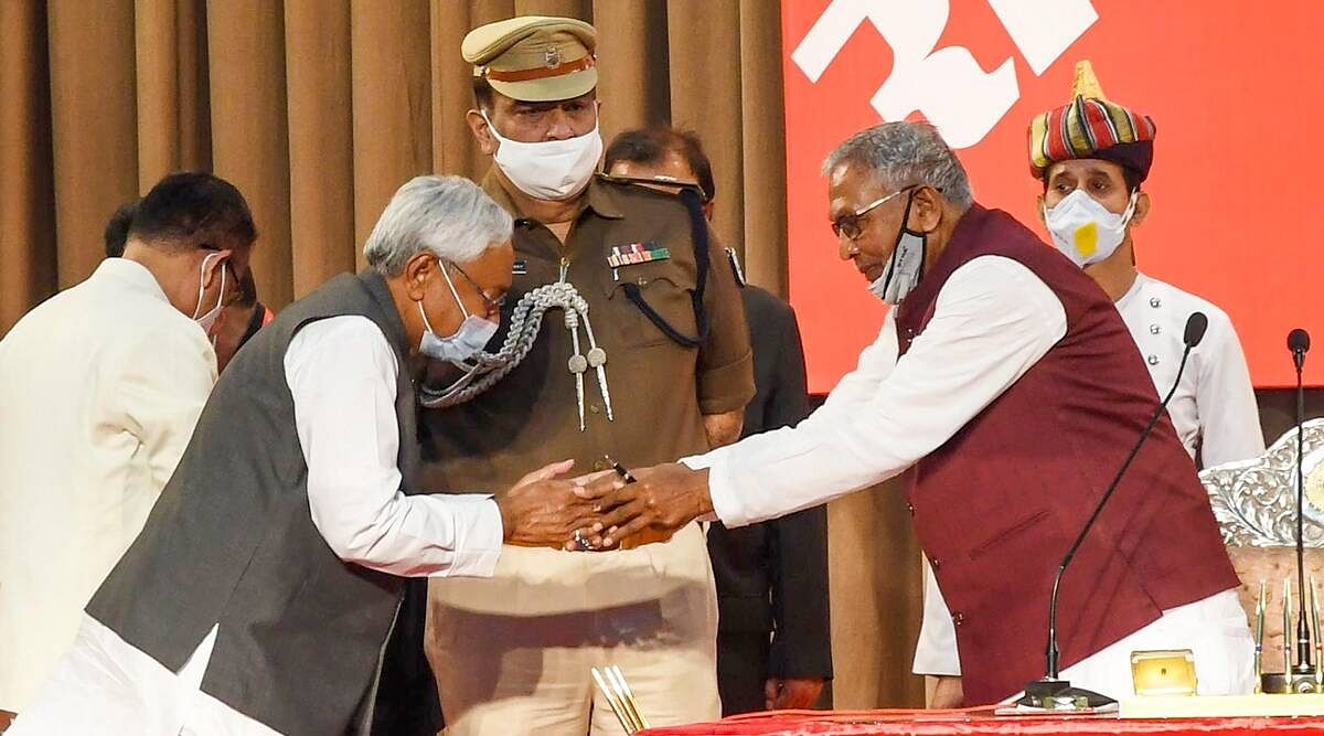 Nitish Kumar takes oath as Bihar CM for the seventh time