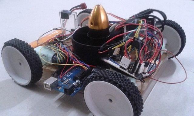 Multi-purpose wall-climbing robot