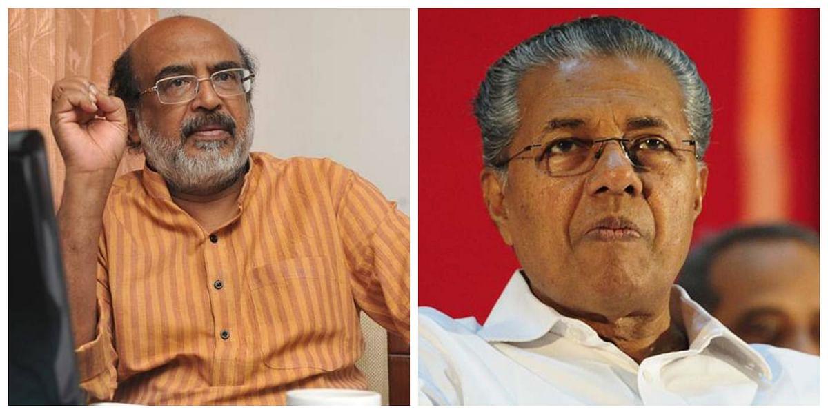 CPI (M) targets Pinarayi Vijayan's advisor Raman Srivastava over KSFE raid