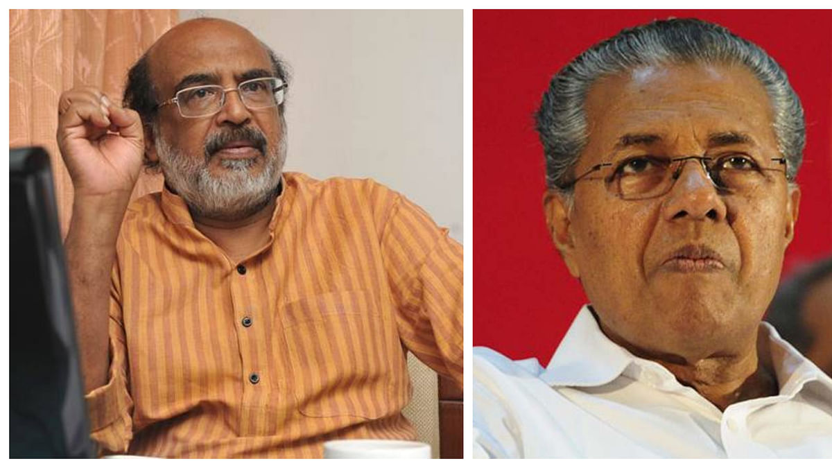 Kerala CM Pinarayi Vijayan and FM Thomas Isaac hit out against I-T dept over KIIFB raids