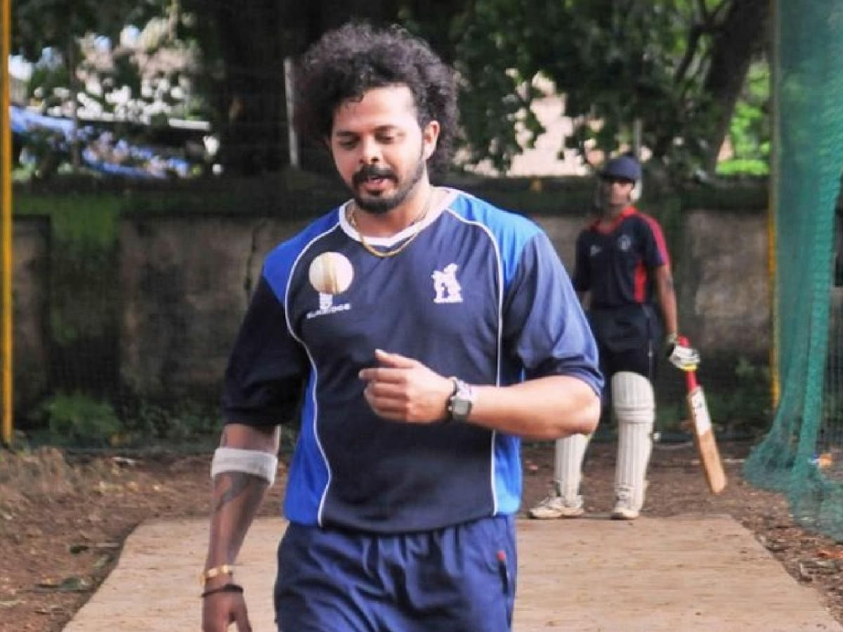 S Sreesanth to return to cricketing world after years of shunning