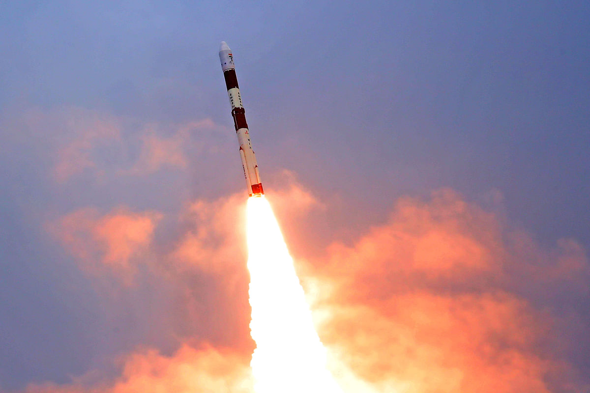 PSLV lift-off