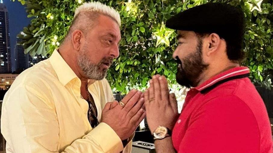 Mohanlal spends Diwali with Sanjay Dutt in Dubai, photos surface online