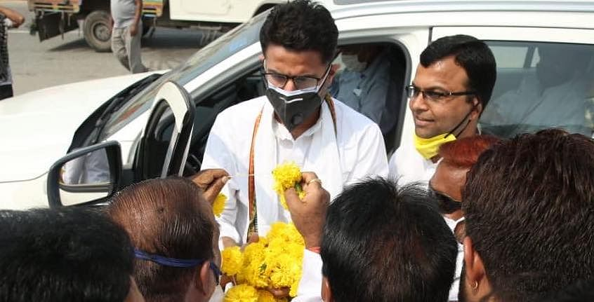 Congress leader Sachin Pilot tests positive for Covid-19