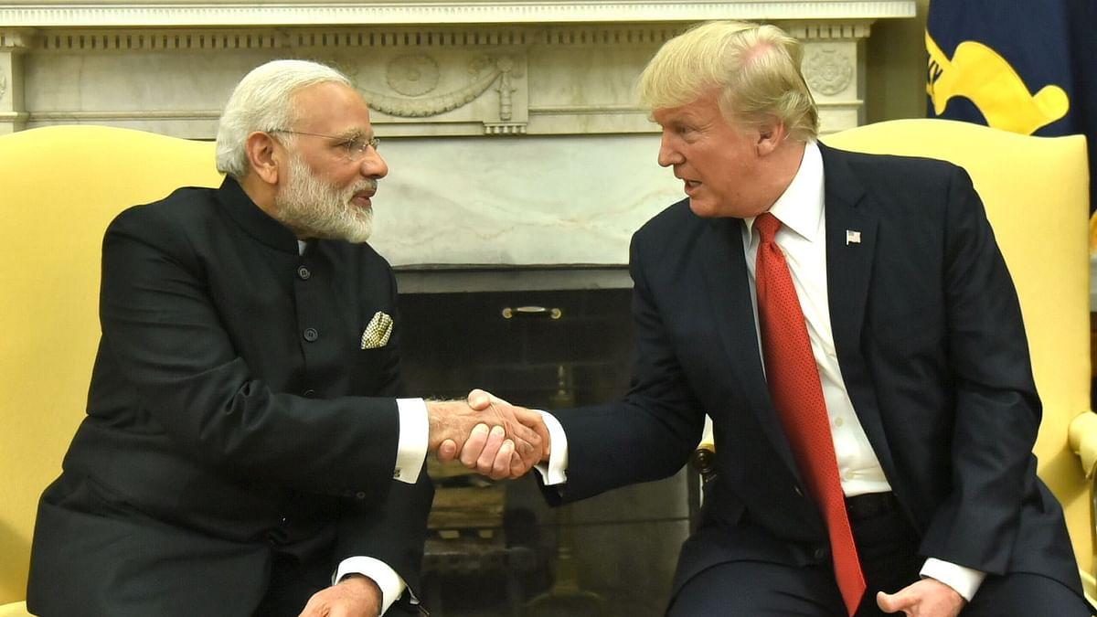 US Prez Donald Trump presents Prime Minister Modi with Legion of Merit
