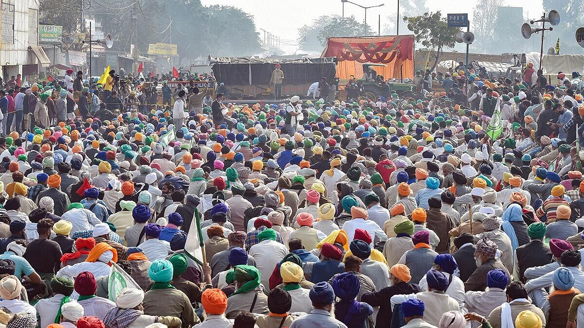 Farmers' protest: Will urge voters to vote for candidates to defeat BJP, says Union leaders