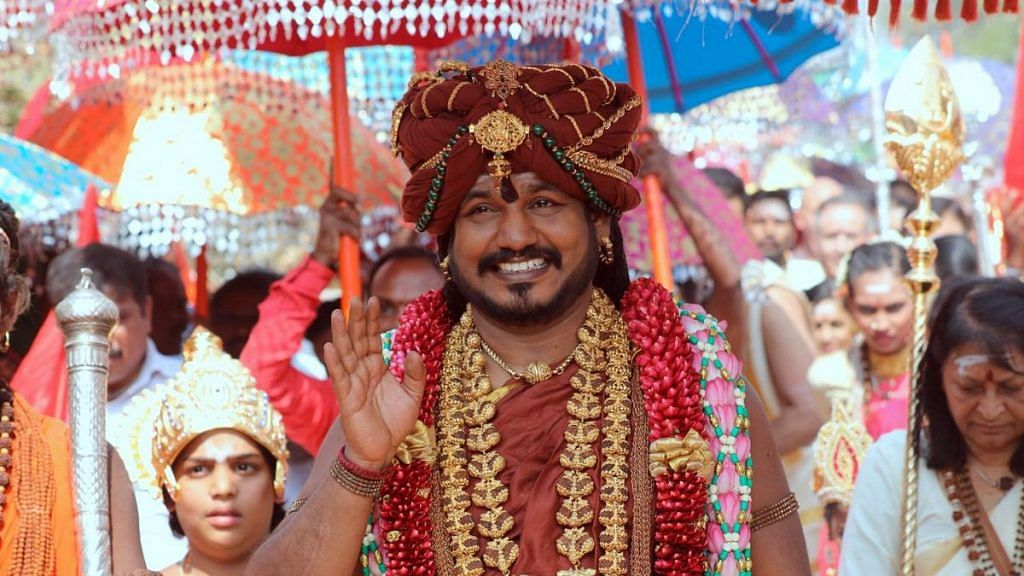 Fugitive godman Nithyananda offers free three-day visa to Kailasa 'country', food, and accommodation