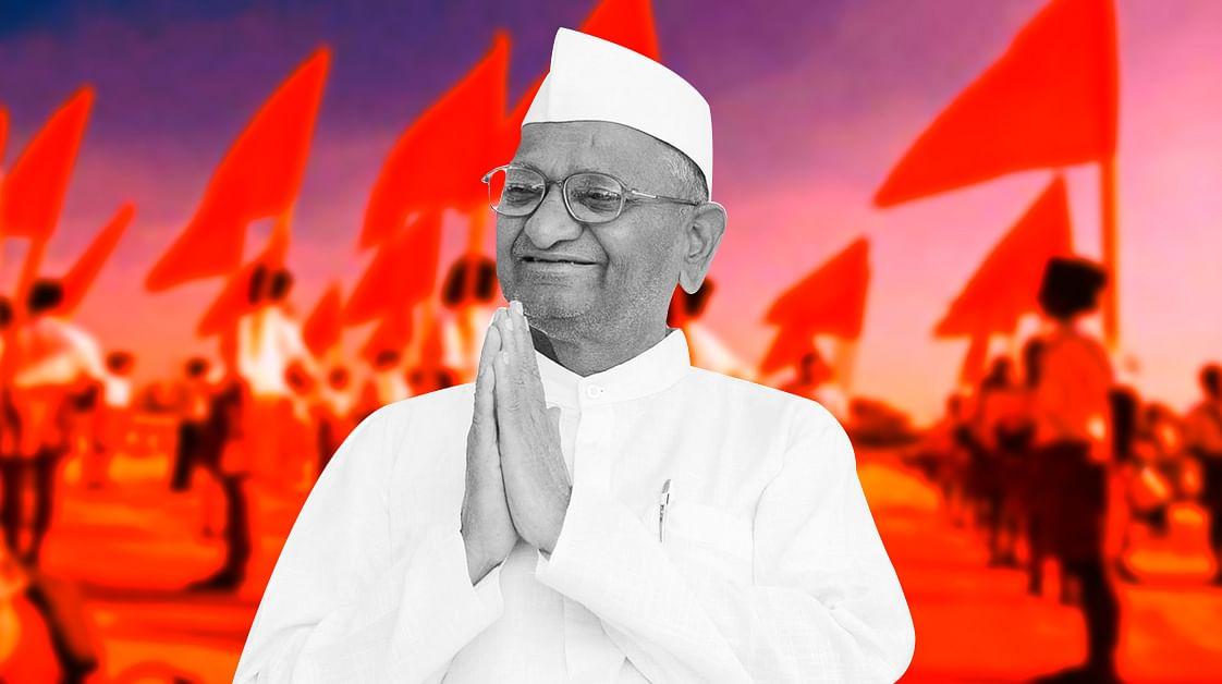 Anna Hazare: A Sangh mole as a diversion in the farmers' struggle?