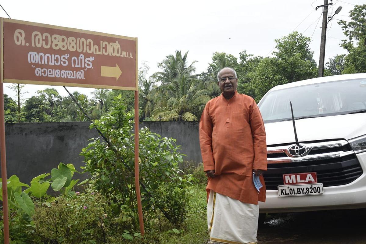 Kerala BJP MLA reverses position; allege that Speaker P Sreeramakrishnan violated protocol