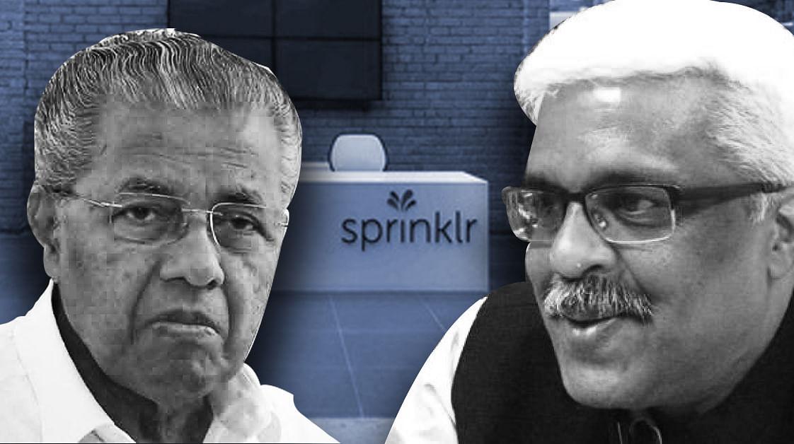 CM Pinarayi Vijayan, Health Dept unaware of Sprinklr deal as Sivasankar sole perpetrator: report