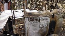 Terminated school bus driver sets himself ablaze in an auto in Thiruvananthapuram