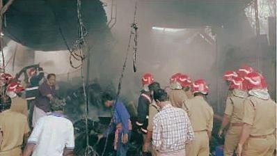 Fire at Kunnamkulam; damage worth Rs 15 lakh estimated