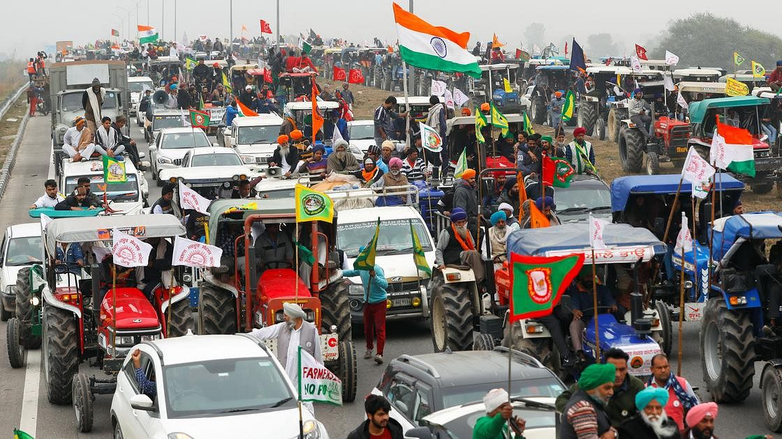 Over 100 people missing since tractor parade on Republic day, claims farmers' body