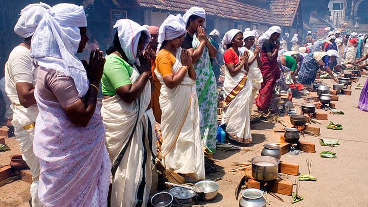 Pongala at the Women's Sabarimala to be a toned down affair this year