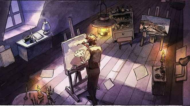 Trivandrum artiste Kishore Mohan goes global with a graphic novel twist on Oscar Wilde classic