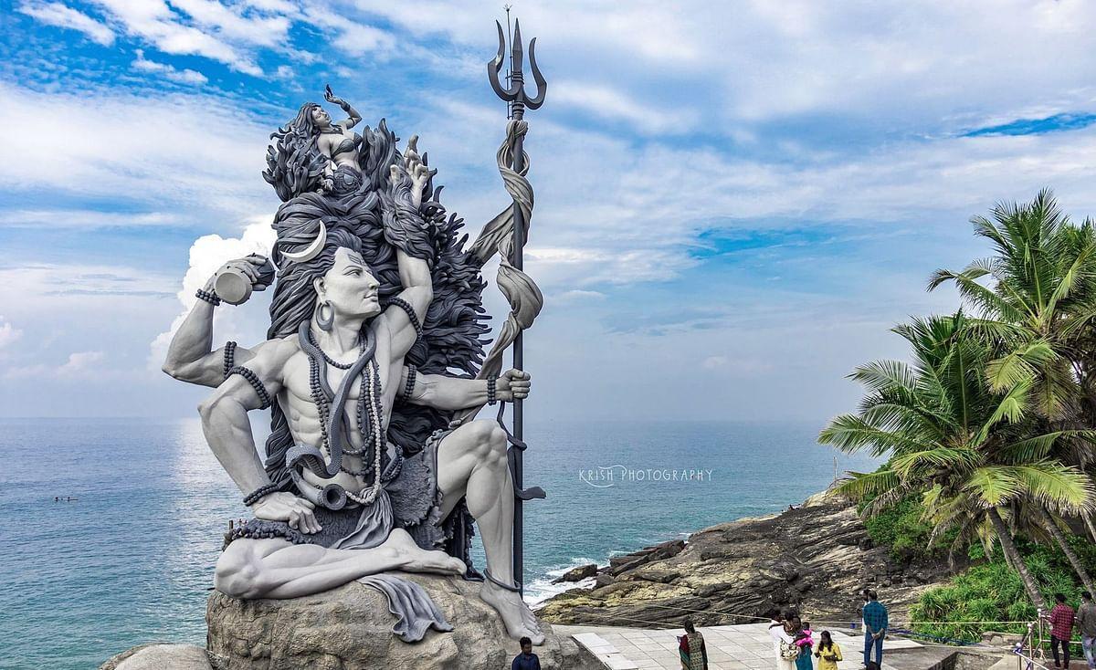 Kerala's tallest Gangadhareshwara statue at Azhimala adorns Padmanabha's Thiruvananthapuram