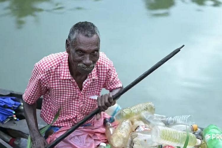 PM Modi praises Kottayam resident Rajappan for his efforts to clean Vembanad Lake