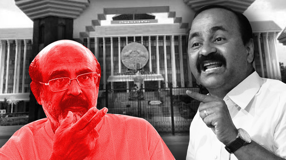 Kerala opposition walk out, as Speaker dismisses adjourned motion on CAG audit of KIIFB