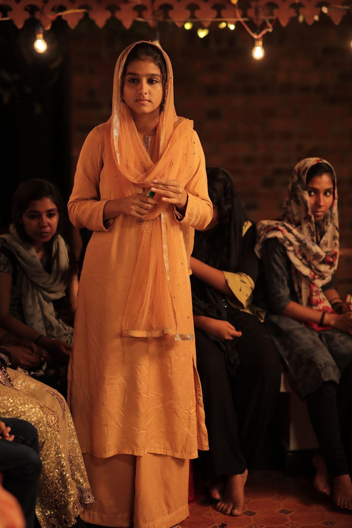 Anaswara Rajan as Razia in Kavya Prakash's Vaanku