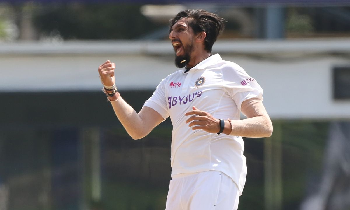 Ishant Sharma's expression after taking 300 test wickets tells you the entire story