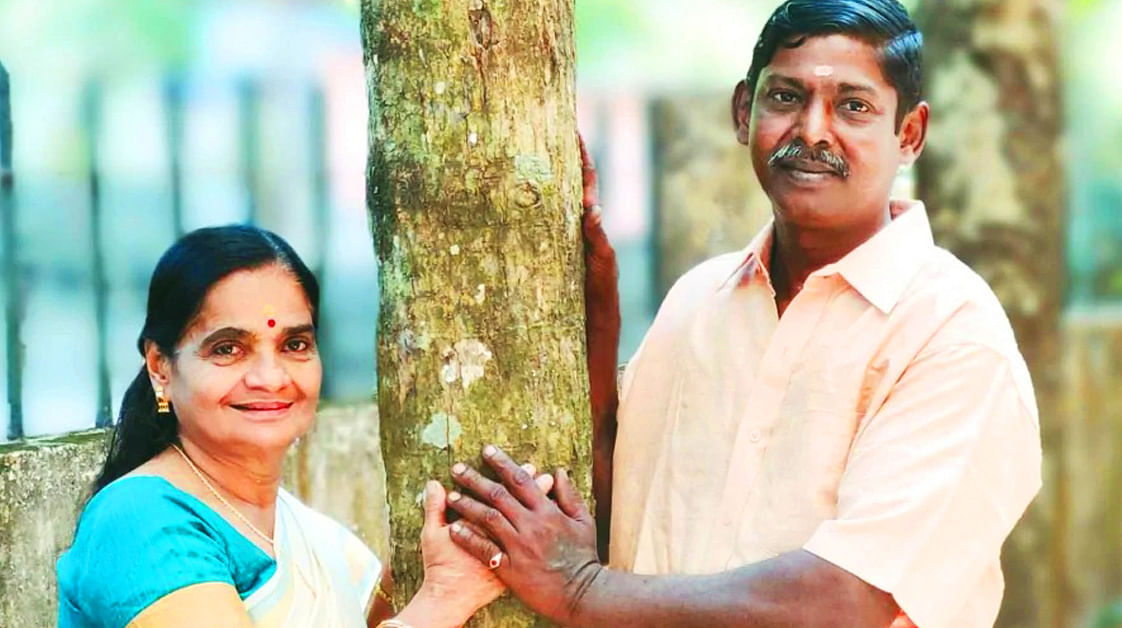 Ahead of Valentine's Day, this Adoor couple reminds us that age is no bar when it comes to love