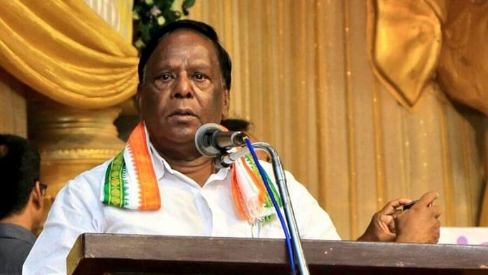 Congress lists 14 candidates for Puducherry polls; ex CM Narayanasamy's name off the list