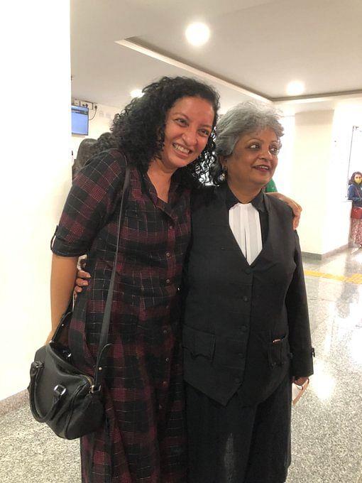 Priya Ramani along with her advocate