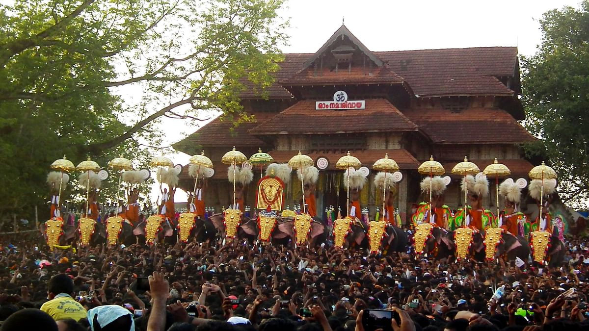 Thrissur Pooram to take place on April 23, Kerala government to give final approval
