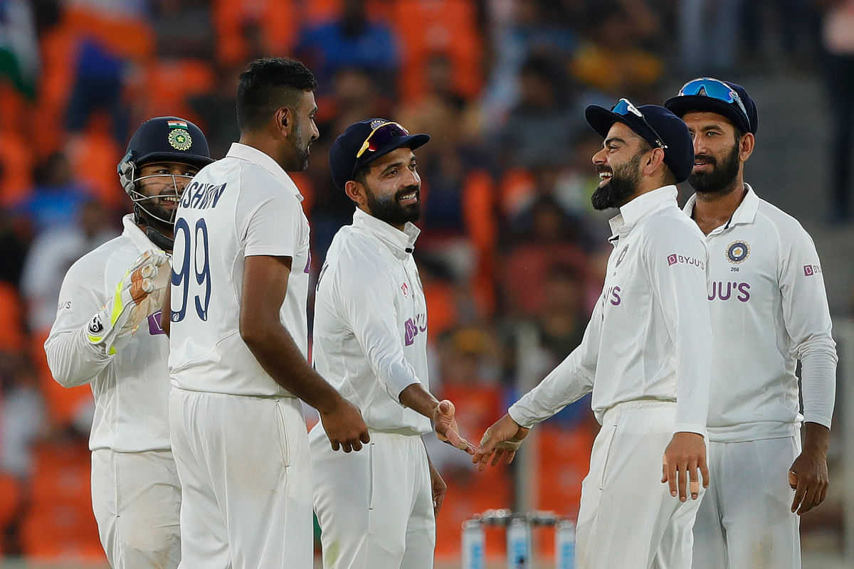 D/N Test: Ashwin, Axar help India take 2-1 lead over England with 10-wicket win