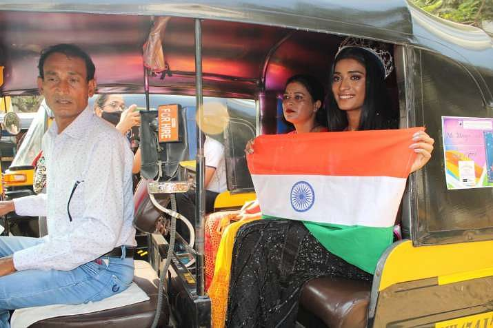 Miss India runner up Manya Singh's ride to fame in an auto