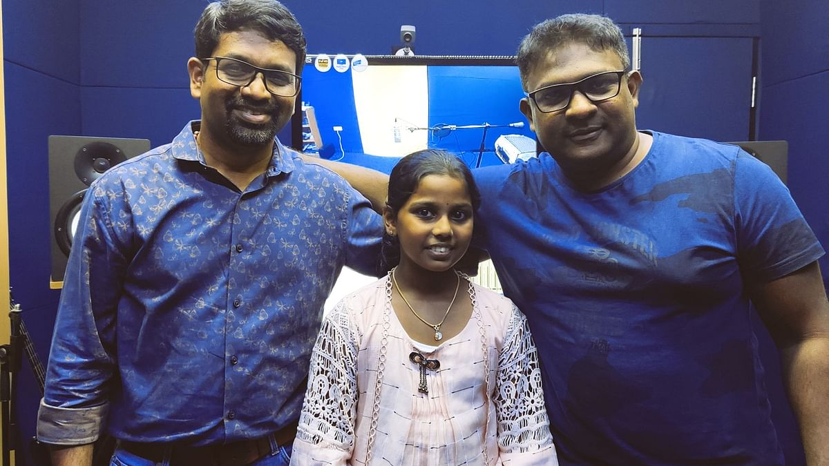 Eleven-year-old playback singer Niya Charly and the viral Rahul Raj song in Mammootty's 'The Priest'