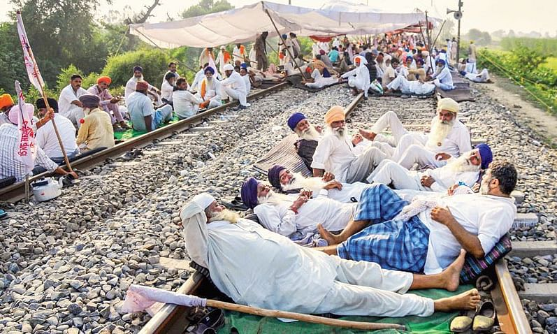 Farm laws: Rail roko will be peaceful, will give refreshments to those stranded, says Rakesh Tikait