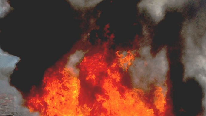 Four in a family at Kozhikode rescued from flames; condition critical