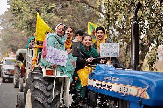 Gunshots fired near farmers' protest site at Singhu border ahead of women protestors' gathering