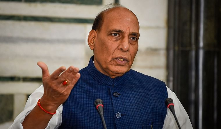 New laws for Sabarimala and Love Jihad if brought to power in Kerala: Defence Minister Rajnath Singh