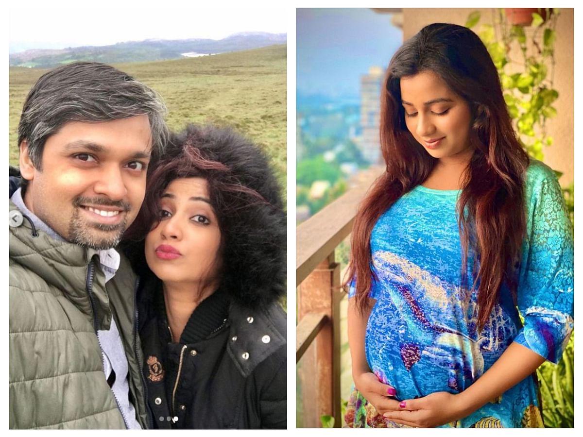 Shreya and Shiladitya; Shreya