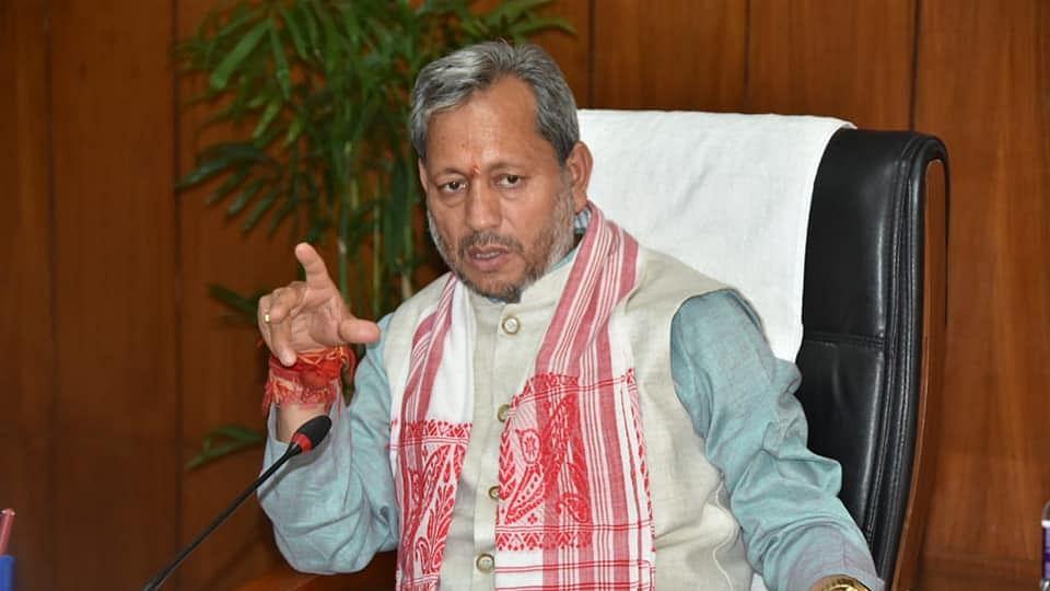 Uttarakhand CM Tirath Singh Rawat announces he has tested positive for Covid-19