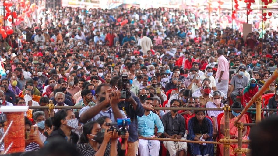 Kerala election campaigns disregard Covid-19 protocols while the virus sees resurgence in India