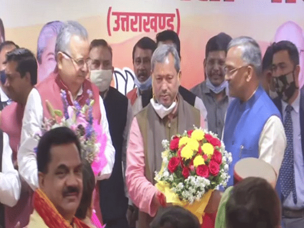 What happened in Uttarakhand for the BJP to select an MP as the next CM of the state?