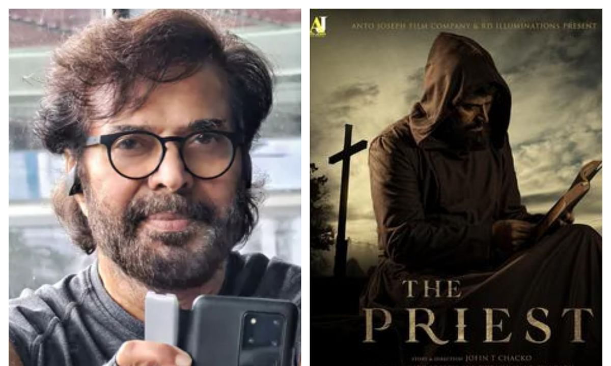 Jofin confesses delay behind Mammootty's 'The Priest' release
