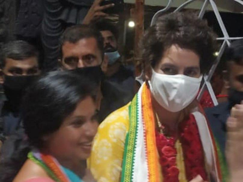 Priyanka's support was similar to that of a sibling's: UDF's Vattiyoorkavu candidate Veena S Nair